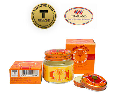 Golden Cup Cool Balm Oil Ointment Thai Herbal Massage Spa Muscular Pain Relief