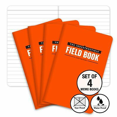 The Indestructible, Waterproof, Tearproof, Weatherproof Field Notebook -