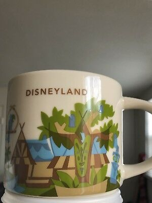 Disney  Adventureland Starbucks YOU ARE HERE COLLECTION Mug - NEW
