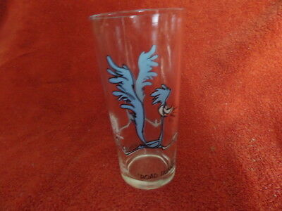 """Vintage Pepsi Collector Series """"road Runner"""" Drinking Glass"""