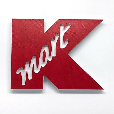 KMART Department Store Shelf Display - High Quality Custom Made - Classic Retail