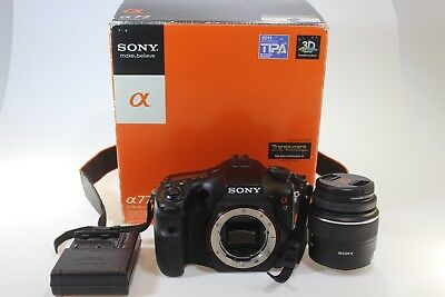 Sony Alpha SLT-A77V 24.3MP Digital SLR Camera With Lens (1007630-1)