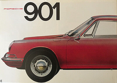 REDUCED Porsche 901 30 Anni 1964-65 Sales Brochure '93 Repro English 911 Catalog