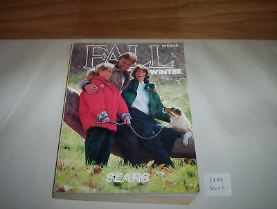 "Sears Canada Fall Winter 1989 Store Catalog ( Store Catalogue) 8"" by 11"""