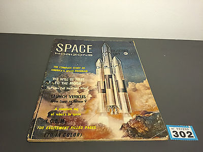 1965 Space Horizons Vol.1 1 Issue Magazine Space Travel
