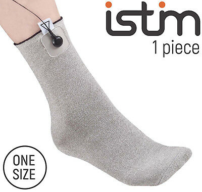 iStim Conductive Sock Package for electrotherapy, TENS/EMS mechine compatible
