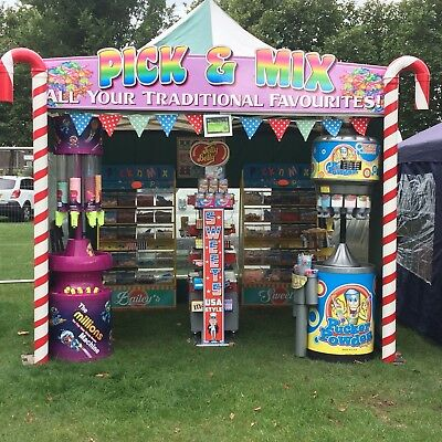 Sweet Shop Business - Catering - Pick&Mix, Candy Floss, Popcorn, Sweet Cart
