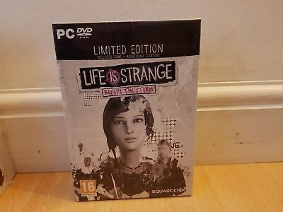Life Is Strange Before The Storm Limited Edition PC Game SEALED
