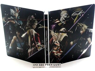Dissidia Final Fantasy Nt Steelbook Ps4 Cloud Strife - No Game