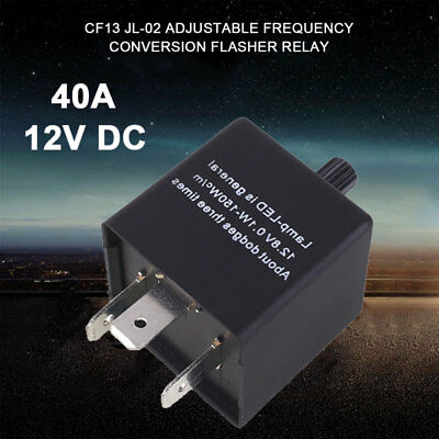 Variable Frequency Auto Relay Durable Car Turn Light 3Pin