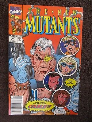 The New Mutants #87 (Mar 1990, Marvel) First Appearance of Cable Movie Red Hot!