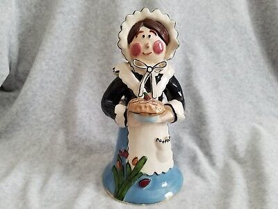 Blue Sky Girl Pilgrim Camdle Holder