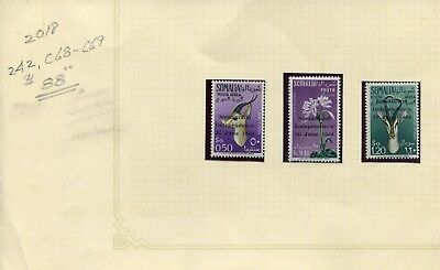 Weeda Somalia 242, C68-C69 VF MNH 1960 Independence Overprinted issue CV $88.00