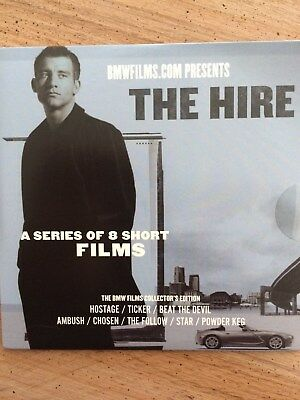"BMW Films DVD:""The Hire"", 2003 Collector's Edition, Clive Owen"