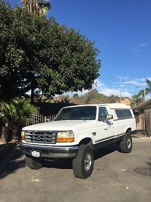 1997 Ford F-350 XLT 1997 F-350 7.3 OBS PowerStroke 4x4 California Rust Free Clean Car Fax