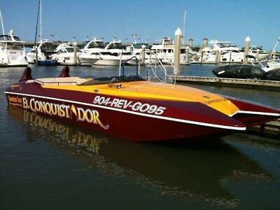 2006 Sea Rocket 33FT Cat, Commercal Boat, Trailer, Twin Diesels, 14 Passenger