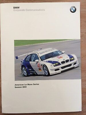 BMW Corporate Communications- M3 GTR - 2001 Le Mans Series