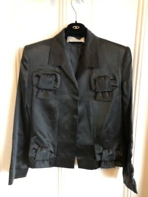 Givenchy couture Black Suit For Women Made In France