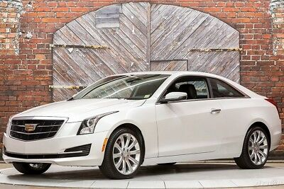 Cadillac ATS 2.0L Turbo 17 2.0L Turbo Automatic Bose Power Sunroof Only 4,529 Miles