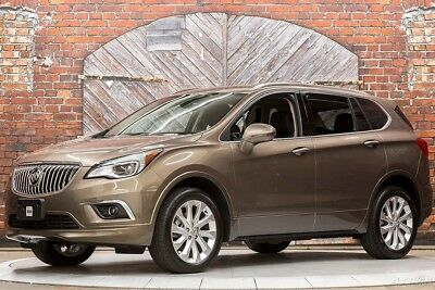 Buick Envision Premium II 16 Bose Rear View Camera Nav Vented Seats Power Liftgate Bluetooth Lane Assist