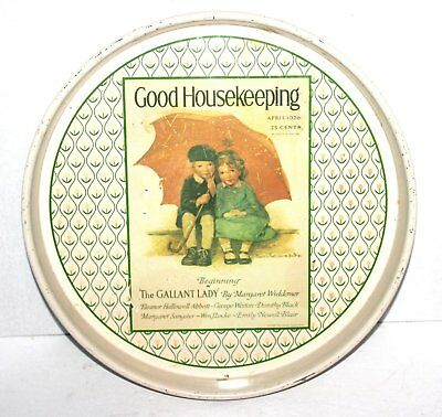"""Vintage 14"""" Good Housekeeping Tray, Cheinco,  Antique Alchemy"""