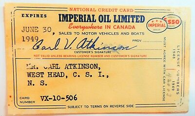 Imperial Oil Limited    1949