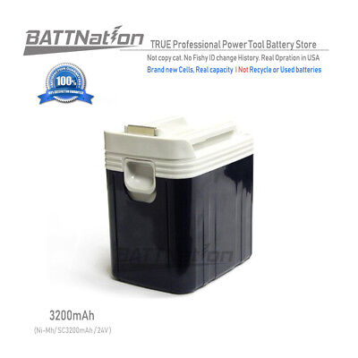 24V 3200mAh 3.2AH NiMh Slide Style Battery for MAKITA BH2420 BH2430 BH2433
