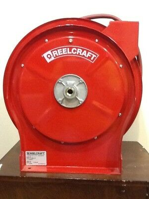 "REELCRAFT SPRING RETRACTABLE AIR HOSE REEL 50Ft. x 3/8"" 300 PSI PICK UP ONLY"