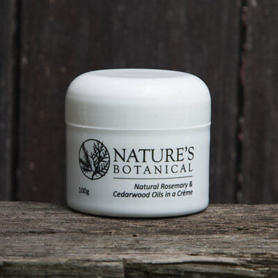 Natures Botanical 100g Creme Natural Insect Mosquito Repellant Dog Horse Pet Fly