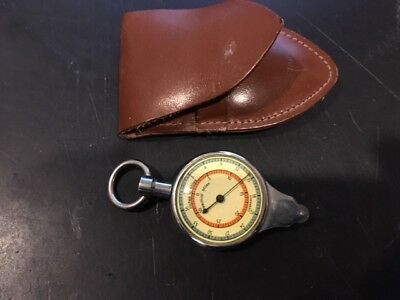 Antique German Made Compass Nautical Miles Measurer  Maritime Boating
