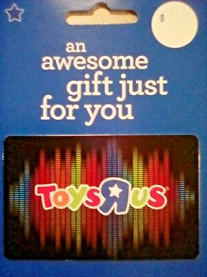 TOYS R US Gift Card - Colorful design - Collectible/ No Cash Value