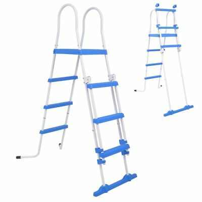 vidaXL Above-Ground Pool Safety Ladder with 3 Steps 122 cm Swimming Hot Tub