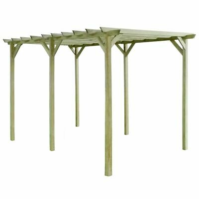 vidaXL Garden Pergola 4x2x2m Impregnated Pinewood Outdoor Patio Arbour Carport