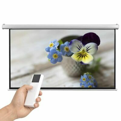 vidaXL Electric Projector Screen with Remote Control 200x113 cm 16:9 Theatre
