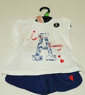 girls summer short set / outfit  t-shirt / shorts