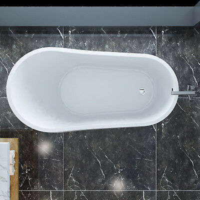"Bath Tub Free Standing Bathroom Acrylic Stronger Bearing Stength ""Thin Edge"""
