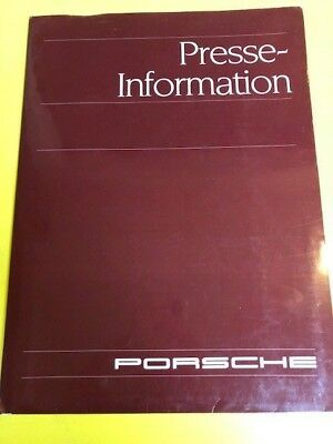 Porsche Formula 1 Full press release kit Footwork Porsche FA12