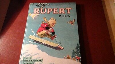 THE RUPERT BOOK 1956 (Painting contest not attempted )DROP IN PRICE.