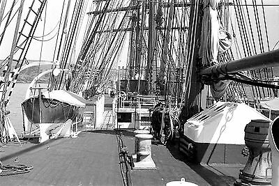 "Sets of 10 6x4/"" B+W photo prints Windjammer clipper sailing ships in the 1930s"