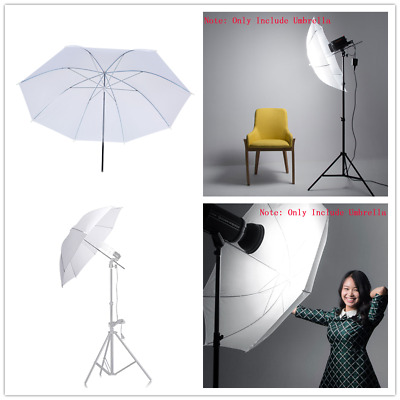 "New 33"" 84cm Photographic Soft Umbrella Shoot Through for Studio Speedlite Flash"