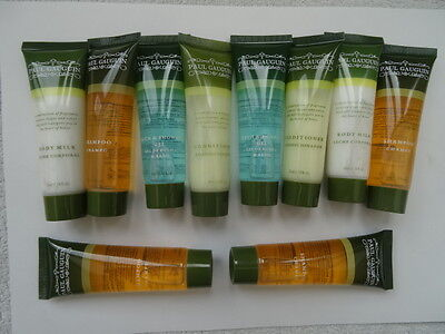 Paul Gauguin Travel Shampoo/Conditioner/Shower Gel/Body Milk. 10 x 35mls Tubes.
