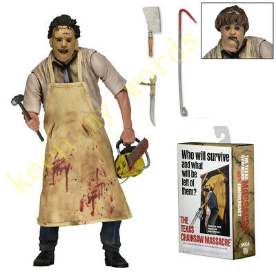 """NECA The Texas Chainsaw Massacre Ultimate Leatherface 7"""" PVC Action Figure Toy"""