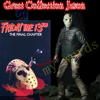 """NECA Friday The 13th Part 4 Ultimate Jason Vorhees 7"""" PVC Action Figure Toy Doll"""