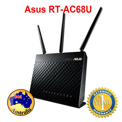 Asus RT-AC68U Dual Band Wireless AC1900 Gigabit Router Dual-Band Wireless