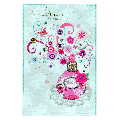 Handmade Mother Birthday Card For You Mum With Love Beautiful