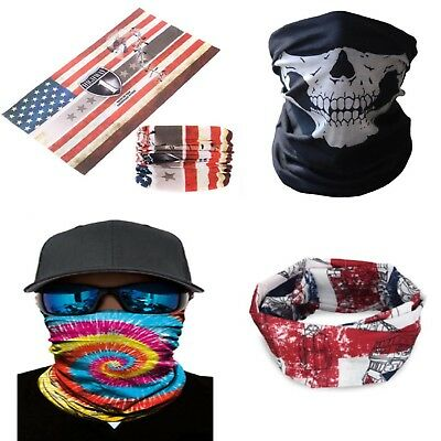 Bandana scaldacollo paracollo moto scooter foulard anti vento snowboard softair