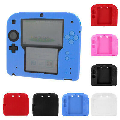 soft silicone gel protective cover bumper case Skin For Nintendo 2DS