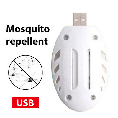 Portable USB Pest Reject Electronic Anti Mosquito Insect Fly Bug Killer Repeller