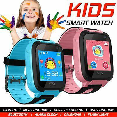 2018 Style Child Kids Smart Watch Fitness Alarm Step Counter Call For KIDS Child