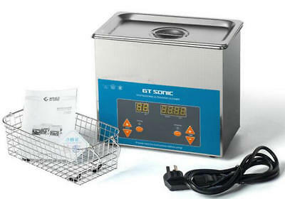 Digital Stainless Steel 3 L Liter Industry Heated Ultrasonic Cleaner Heater